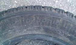 SELLING A SET OF 4 WINTER TIRES GOODYEAR BRAND NORDIC ALMOST NEW SIZE P215/60 R15 . TWO MONTHS USED PRICE:290 FOR SET OF 4 (New price)