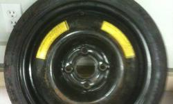 Good Year Spare tire from Acura Integra. Has never Been used. T105/70D14 should fit most honda or acura Cars $40 obo. 250-470-1090