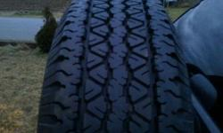 Set of 5, P235/75/r15, great shape. Off a 1996 blazer, also selling other parts off the truck as well. Call or email, 519-532-0982