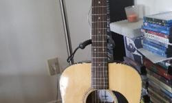 Mint condition 12 string Goya GA 300 accoustic guitar and case