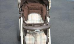 """GRACO Stroller with """"Comfort Tracker"""""""