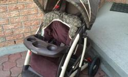 Graco stroller Very comfortable ride due to soft tires One hand fold up $50