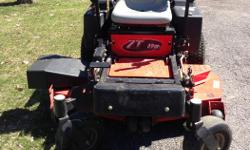 """48"""" cut, zero turn with about 80 hours on it, Approximately 4 years old, Comes with Collection System, In excellent running condition. Call (613) 835-3806 to make an appointment to see the tractor or ask further questions."""