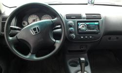 Make Honda Model Civic Year 2004 Colour Silver kms 200500 Trans Automatic Ready to go! Car is safety checked & e-tested, comes with winter & summer tires on rims, new stereo with Bluetooth and tinted windows.