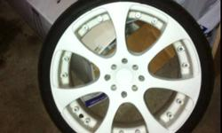 """18"""" RS Rims with low profile tires.. Were used on my Prelude with minimal use.. I will double check the actual tire size but pretty sure they are 215/35/18 selling the car so Rims are being sold seperate they are multi fit 4bolt pattern. Asking 1800/ firm"""
