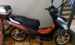 Ecoped City45 for sale. Body is clean no damages, still like brand new. No Insurance, Drivers Licence, plate or ownership/registration required. Bike was kept inside in a heated area during winter periods. Battery capacity is around 90%.. Which means