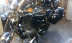 This bike is a must to see. It was completely overhauled this past winter. A safety was just done. Complete brake job front and back along with bearings and seals. Fuel tank was lined, new back tire, front tire was new last year. Comes with many spare