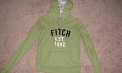 Small Green Abercrombie Hoodie, best offer