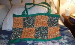 My name is diane. I am selling this nice bag...... 50.00 I am in the west end of Ottawa, Westboro I will deliver. I have a car