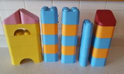 25 piece set of large Green Toys blocks in excellent, like new, condition. Manufactured and assembled in California from 100% post-consumer milk jugs, and contains no BPA, phthalates or PVC. Pick up in Kanata North. Check out my other ads :)