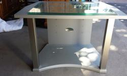Perfect condition. Modern style TV stand.