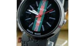 Gucci Mens Watches,photo is for illustration only but this is the tip of watches, there's nofake, with the serial number, before the price $ 350 Now $ 100 isthe reason I have a problem with credit, are only new once used