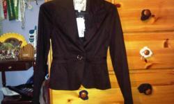 Mostly unused and some barely used clothing   1. NEW WITH TAGS Costa Blanca black blazer- size 2  $10  SOLD   2. NEW WITH TAGS white Guess top- size XS     $20   3. H&M pink blouse- size 6 (small)        $5   4. Costa Blanca dress- size XS/S        $10