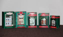 Nostalgic Houses and Shops - Series   1998-2007 Including Special Editions - 24 pieces total   Plus 5 buildings from the Sarah Plain and Tall movie (1994)   Valued over $1,000.00   Asking $400.00 OBO