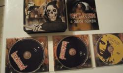 Product Details Halloween (Scary Movie Tracks) 2 CDs PLUS Bonus DVD Night of the Living Dead Edition: Canadian; Collector's Edition Number of Discs: 3 DVD set Genre: Horror/Suspense Comes in a nice collectors Tin Great gift for a collector! This DVD is