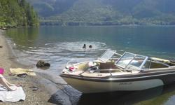 bowrider with 470 merc inboard motor ready to run with 2005 registered trailer. great trailer with new lights boat is ready to run. used every summer on sproat lake