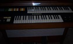 HAMMOND ORGAN IN EXCELLENT CONDITION ENJOY PLAYING OVER THE HOLIDAYS. LISTING FOR MY PARENTS IN DEBERT...IF INTERESTED CALL 662-3621