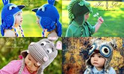 Animal hats - Alien Monster Hats - Crochet Patterns - Photo Props - Baby Shower Gifts - Knit Patterns - & More ! For all ages Newborn to Adult ( Men, Women, Boys and Girls ) Pricing starting at 35.00 Visit our website : http://www.irarott.com