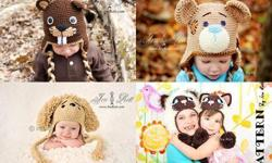 Over 1500 images of my crochet animal hats, patterns Photo Props and more. Newborn to adult sizes. Hat Prices from 30.00 and up and Pattern Prices from 2.50 and up we also have a few free patterns Visit our website : http://www.irarott.com