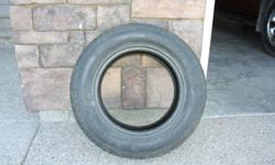 As good as new (more than 80% tread left).  Call 403 320-2285 for details.