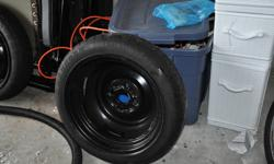 Hankook T105/70R14 84M temporary spare.   We are located about 15 minutes out Lakeshore Drive.   Call 346-8503.