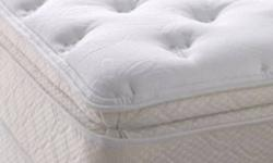 """***HAPPY NEW  YEARS SPECIAL**** BEST DEAL IN TOWN .WE KNOW THE MEANING OF A TOP QUALITY MATTRESS!!!!! YOU GET A 10 YEAR MANUFACTURER WARRANTY,FREE DELIVERY, NO TAX AND EVERY INCH OF MATTRESS IS MADE IN CANADA.   11"""" THICK QUEEN SIZE PILLOW TOP MATTRESS -"""