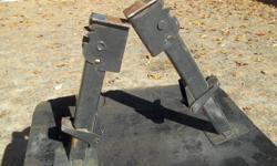 1- SET OF STABILIZER LEGS FOR A HARDTOP CAMPER. GOOD CONDITION, ASKING 25.00 FOR THE PAIR. EMAIL OR CALL 705-789-9351.