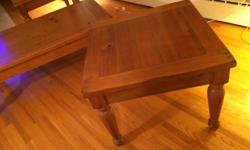 2 - 28x28 End tables 1 - 28x52 Coffee table Excellent condition e-mail or call John 613-363-8709 $ 400 or best offer !