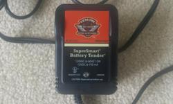 SuperSmart Battery Tender PKG31623. Barely used.