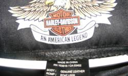 Medium black , Harley jacket, very good condition.