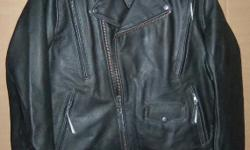 NEW Harley-Davidson Men 98035-12VM El Camino II Biker Leather Jacket sz M With tags (retails for $425.00 + tax) Made of midweight vintage cowhide leather with poly-mesh lining. Zip-out, removable poly-twill vest liner. Two front vertical vents and two