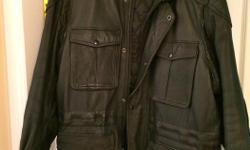 Men's XL Leather Jacket, excellent condition