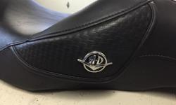 This seat is in new condition and was used on my 2008 Road King. It will fit many of the touring models and can be cross referenced on the Harley site. This seat is the most comfortable you will find for rider and passenger.