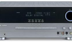 This a classic Harman Kardon AVR-130 receiver which hails back from 2004, before hidef HDMI connections for modern hidef audio video receivers. While it's not up to do modern video connections, it's still a great audio receiver for a room where you want