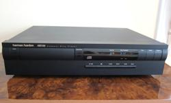 WORKS AND SOUNDS LIKE NEW, NO ISSUES Single disc player, for best performance. Clean in and out, smoke-free. Very similar in build/design to HD7500 II, that I used to own for many years, that has glorious sound. This HD7300 is the hard to find upgraded