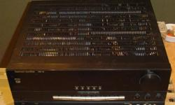Great receiver amp in great condition, with manual.