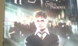 Harry Potter and the Order of the Phoenix PC DVD. Rated E for Everyone 10+. Includes video game manual. Excellent condition.
