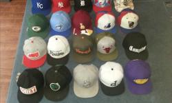 I am selling off the last of my hat collection. I have 20 hats in toal for sale (10 fitted size 7 3/8 & 10 Snap Backs). All in pretty good condition no tags though. Some not even really worn. I will sell all of the fitted hats $150 & all of the snap backs