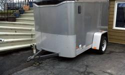 2007  8x5 haulmark transport trailer, axle capicity 3500 lbs, all led lights realy excellent condition