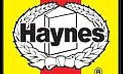 Variety of  Haynes repair books in good used condition. Some vintage hardcover, all-model annual books from the 1970's, 80's. All Haynes books are $3 each. In,  the CENTER ISLE,    at, The Flea Market, Every SAT and SUN from 10 am till 5 pm, 1015 Barton