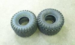 Have 2 HD Field Trax Tires 22X12-8 taken off John Deere Gator. Slightly used but in good condition. $40 for the pair.