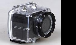"""New, unused, still in box Gaoki HD Sport Camera. This is a great little camera, similar to GoPro's but without the name, and with an LCD screen and remote! Specs -1.5"""" LCD screen -remote control -1080p@30fps -5mp photo -waterproof case -suction grip"""