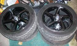 selling my Rims with good rubber on them also balanced for half what i payed.Just had them put on middle of last summer and they look sick on my acura tsx 2004 the ride was no different then my original rims.If interested please call Brad 905 321 6884