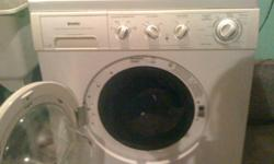 "NEW LOWER PRICE!!  I am selling my HE heavy duty Front load washer and matching dryer.  I am moving and will not need them.  They are almost 6 years old and are the ""Kenmore"" brand.  Both washer and dryer have stainless still insides.  They also come with"
