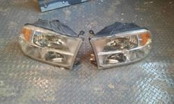 2011 Dodge Ram 1500 Headlights, Left and Right Used for 6 months before replaced with aftermarket. Slight wear marks. Bulbs Not Included. Cash only, best offer
