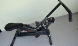 A great low impact workout machine for the total body. Smooth and silent won't wake up your partner when you exercise in the middle of those sleepness nights. Use the Health Riser to get in rowing shape for the Dragon boat races or the marathon runs.