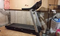 Excellent condition, bought new in January 2016. Includes pre-loaded 8 week weight loss program, calorie, distance, and speed counters, and heart rate monitor. Also has built in fan, and speakers. Folds for storage. Email or text only please.