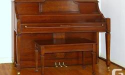 Heintzman Upright Piano. -Appartment Size -Soundboard checked off -Keypads Like New -Very Clean & Plays Great -Gently Used