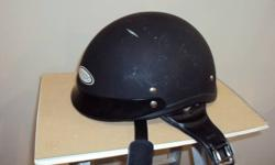 """DOT appoved, Size XXL Colour is """"matt black"""", some scuffing but in good overall shape"""
