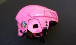 Reebok helmet. Children's size, adjustable. CSA approved. Like new.